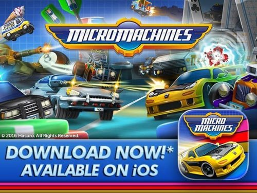Micro Machines is Back and it's Better than Ever