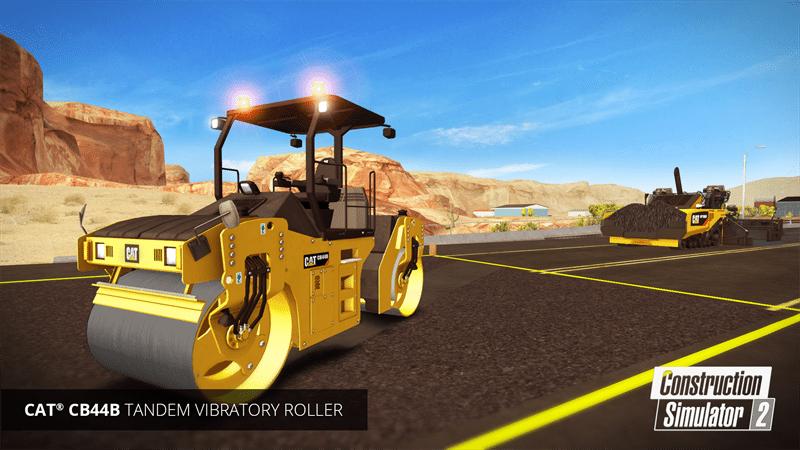 Construction Simulator 2 New Road Construction Gameplay