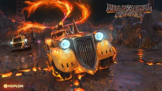 Heavy Metal Machines High-Octane Vehicular Combat Game Announced by Hoplon