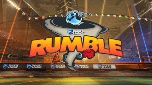 ROCKET LEAGUE Rumble Mode Coming Next Month