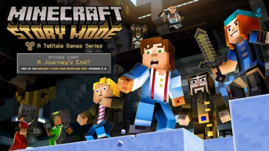 Minecraft: Story Mode - A Telltale Games Series Ep. 8 'A Journey's End?' Lands Sep. 13