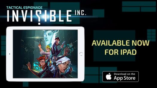 Invisible, Inc. by Klei Entertainment Now Available for iPAD