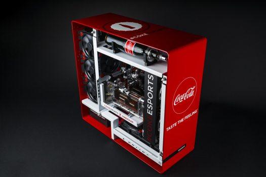 MAINGEAR Announces MAINGEAR RUSH 1ofONE COKE eSPORTS Custom Gaming PC