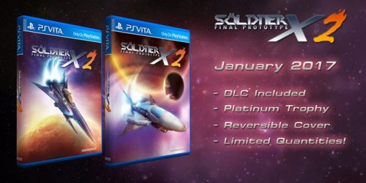 Söldner-X 2: Final Prototype PS Vita Asia Edition Pre-Orders Now Available