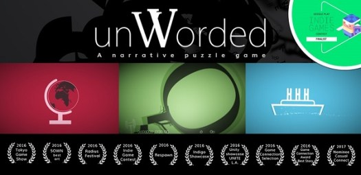 unWorded Innovative Narrative Puzzle Game Now Available on Android