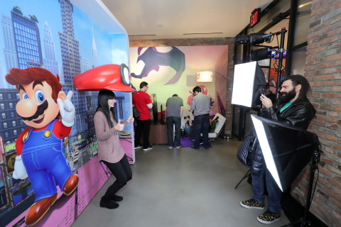Nintendo Switch Press Event in New York Photos Released
