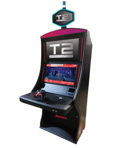 Terminator 2: Judgment Day Video Games Heading to GameCo, Inc. Gambling Machines