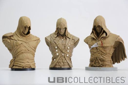 Assassin's Creed Official Ubicollectibles Bust of Connor Now Available