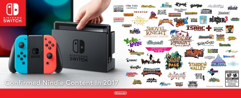 Nintendo Reveals New Partnerships and First Indie Games Coming to Nintendo eShop on Nintendo Switch