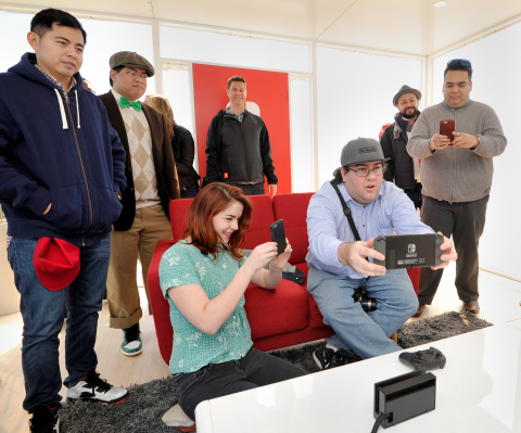 Nintendo Switch Unexpected Places Event with WWE Superstar John Cena Photos