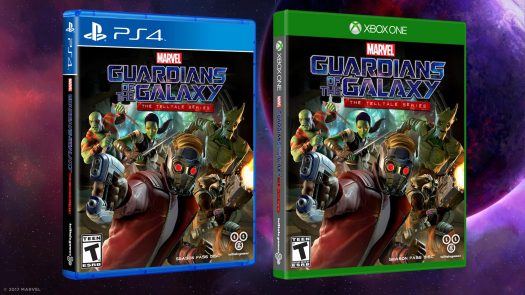 Marvel's Guardians of the Galaxy: The Telltale Series Launching April 18