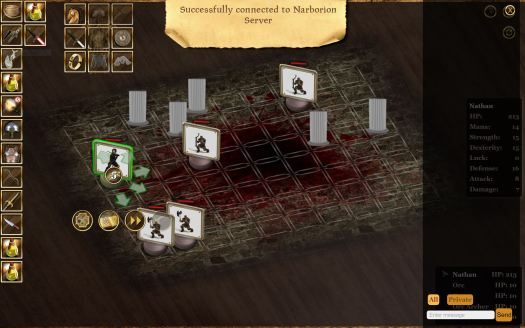 NARBORION SAGA Dark Fantasy Tactical RPG Now Available on Steam