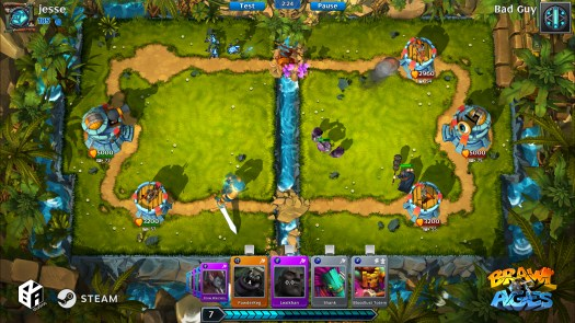 Brawl of Ages Collectible Card Arena Game Now Out on Steam Early Access