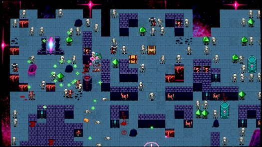 Deathstate: Abyssal Edition Single-Stick Bullet Hell Coming to PS4 April 25