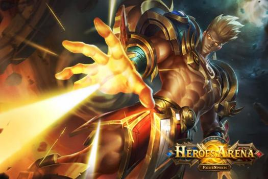 HEROES ARENA Launches Worldwide for Mobile