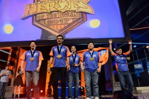 University of Texas at Arlington Team Wins College Tuition at Heroes of the Dorm