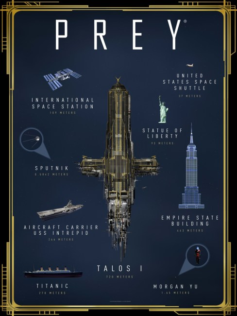 PREY 'A Guided Tour of Talos I' Video Released, Win a Trip to Space Camp
