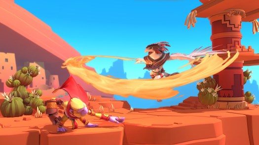 BRAWLOUT Competitive Animated Platform Fighter Coming to Steam Early Access April 20