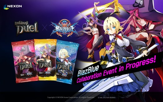 MABINOGI DUEL Tactical Trading Card Game by Nexon Korea Gets New Update Featuring BlazBlue