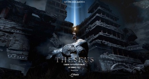 THESEUS Mythical Action-Adventure Game Coming First to PlayStation VR