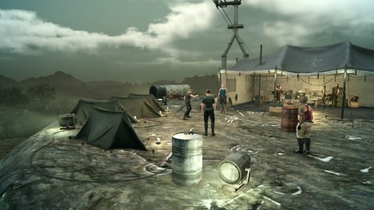 FINAL FANTASY XV Multiplayer Expansion: Comrades Closed Online Test Dates Announced