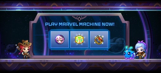 MapleStory Marvel Machine in-game Event Now Live