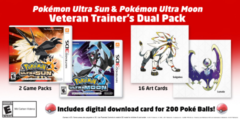 Special Edition for Fire Emblem Warriors and Pokémon Ultra Sun and Pokémon Ultra Moon Dual Pack Announced by Nintendo