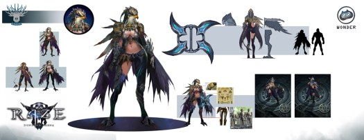 Raze: Dungeon Arena New Character Art Revealed