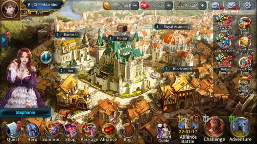 Soul of Heroes: Empire Wars Review for iPhone