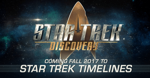 STAR TREK TIMELINES Expands with All New Content from Star Trek: Discovery