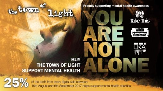 The Town of Light Sales to Benefit Mental Health Awareness