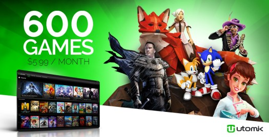 Utomik is First Subscription Gaming Platform to Reach 600 Games