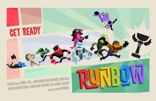 RUNBOW Insane Multiplayer Platforming Madness Coming to PS4 Later this Year
