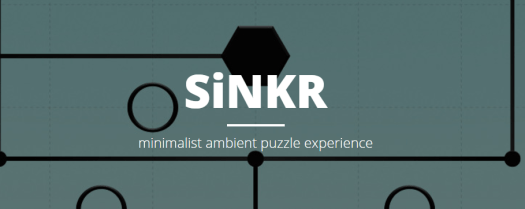SiNKR Minimalist Puzzle Game Launches Today on Steam