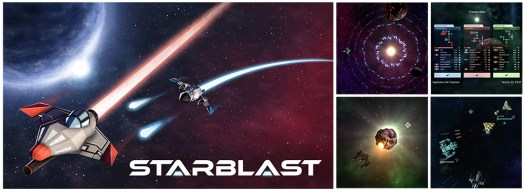 STARBLAST Multiplayer Online Arcade Shmup Heading to Steam Nov. 8