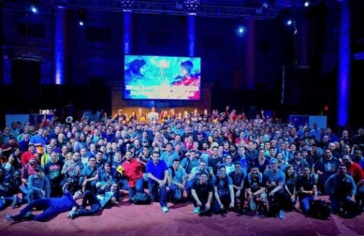 FINAL FANTASY BRAVE EXVIUS Fans and Developers Meet in Celebration