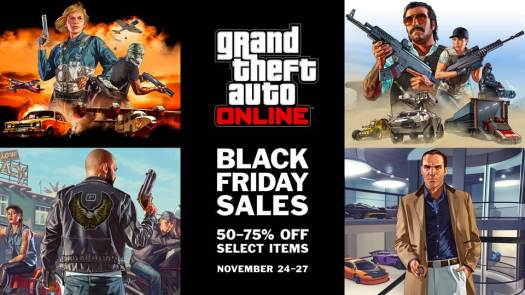 GTA Online Black Friday Deals