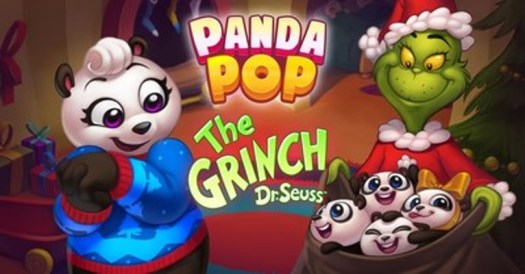 """Jam City Brings the Grinch to Mobile Gaming for the First Time Ever with Panda Pop """"Grinchmas"""" Takeover"""