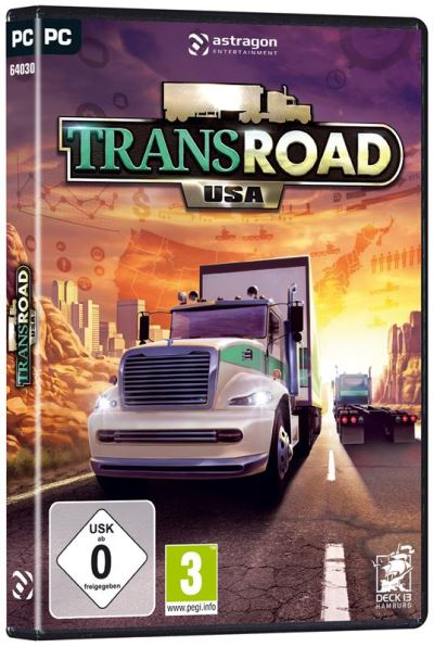TransRoad: USA Available Now for PC