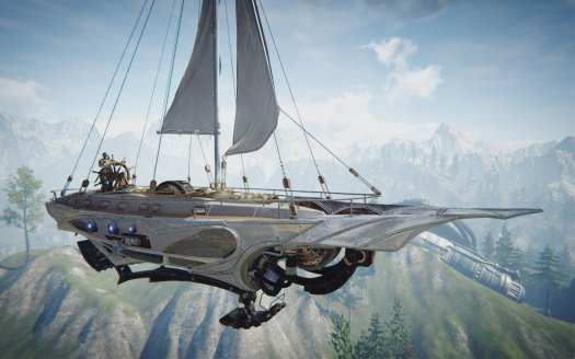 Bluehole Details ASCENT: INFINITE REALM Airships and Weapons