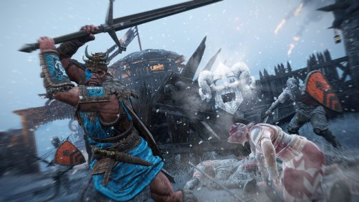 For Honor Frost Wind Festival Iced Buffalo Highlander Gaming Cypher