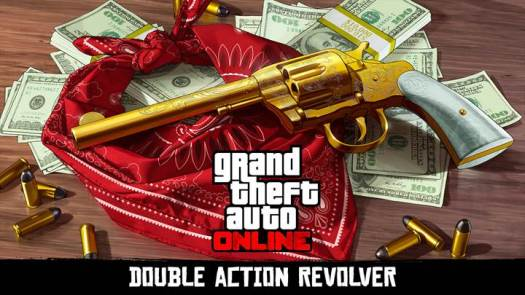 Unlock the Double Action Revolver in GTA Online and Red Dead Redemption 2