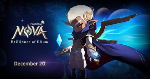 Maplestory Continues its Nova Update Today with New Magical Hero Illium
