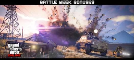 GTA Online Battle Week Bonuses and Details for Week of Feb. 6