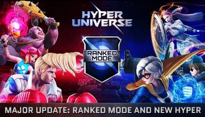 Start the Brawl with HYPER UNIVERSE's New Ranked Mode in Major Update