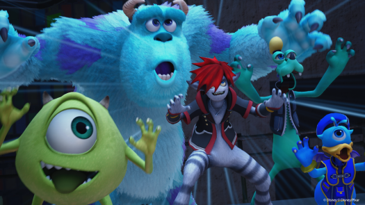 Kingdom Hearts Reveals Monsters, Inc. as New World