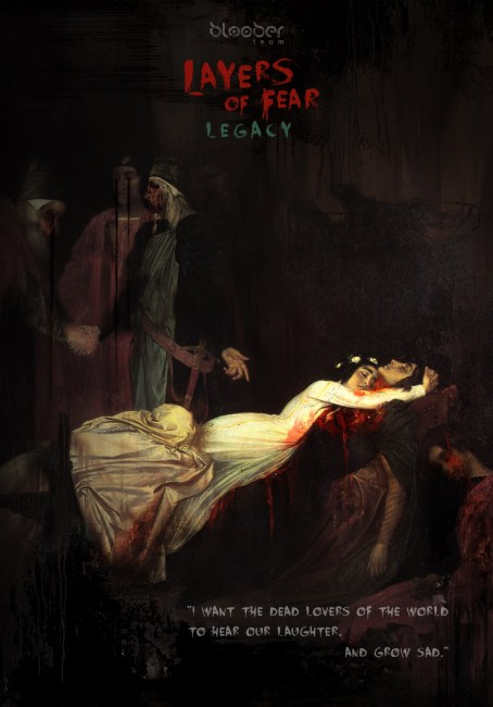 Layers of Fear: Legacy Wishes All Horror Fans a Happy Valentine's Day