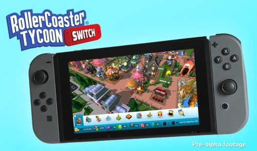 RollerCoaster Tycoon on Nintendo Switch Reveals Features