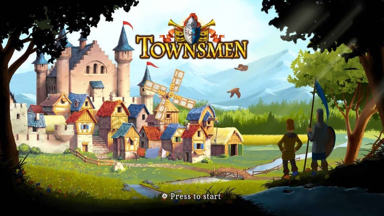TOWNSMEN Review for Nintendo Switch - Gaming Cypher