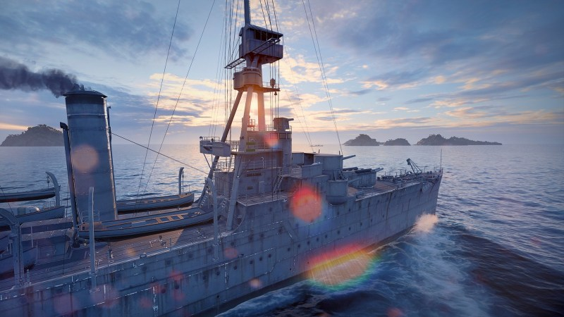 WORLD OF WARSHIPS: Legends Entering Worldwide Console Early